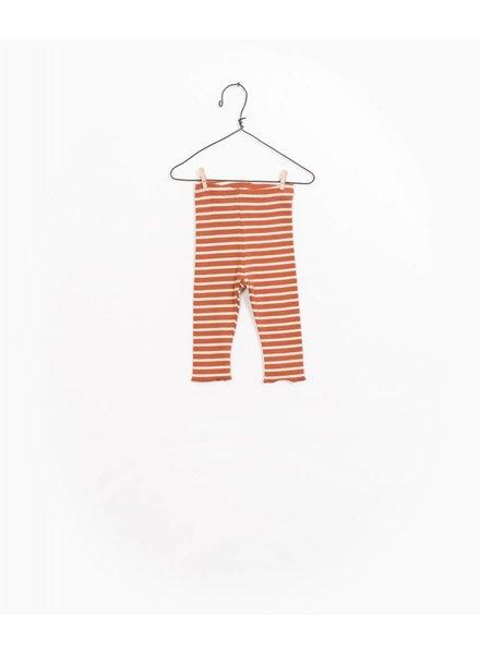 Play Up Striped rib legging