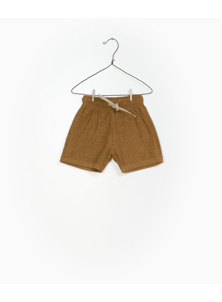 Play Up Terry short cognac