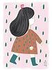 Marta Abad Blay Poster Irene 50 x 70 cm