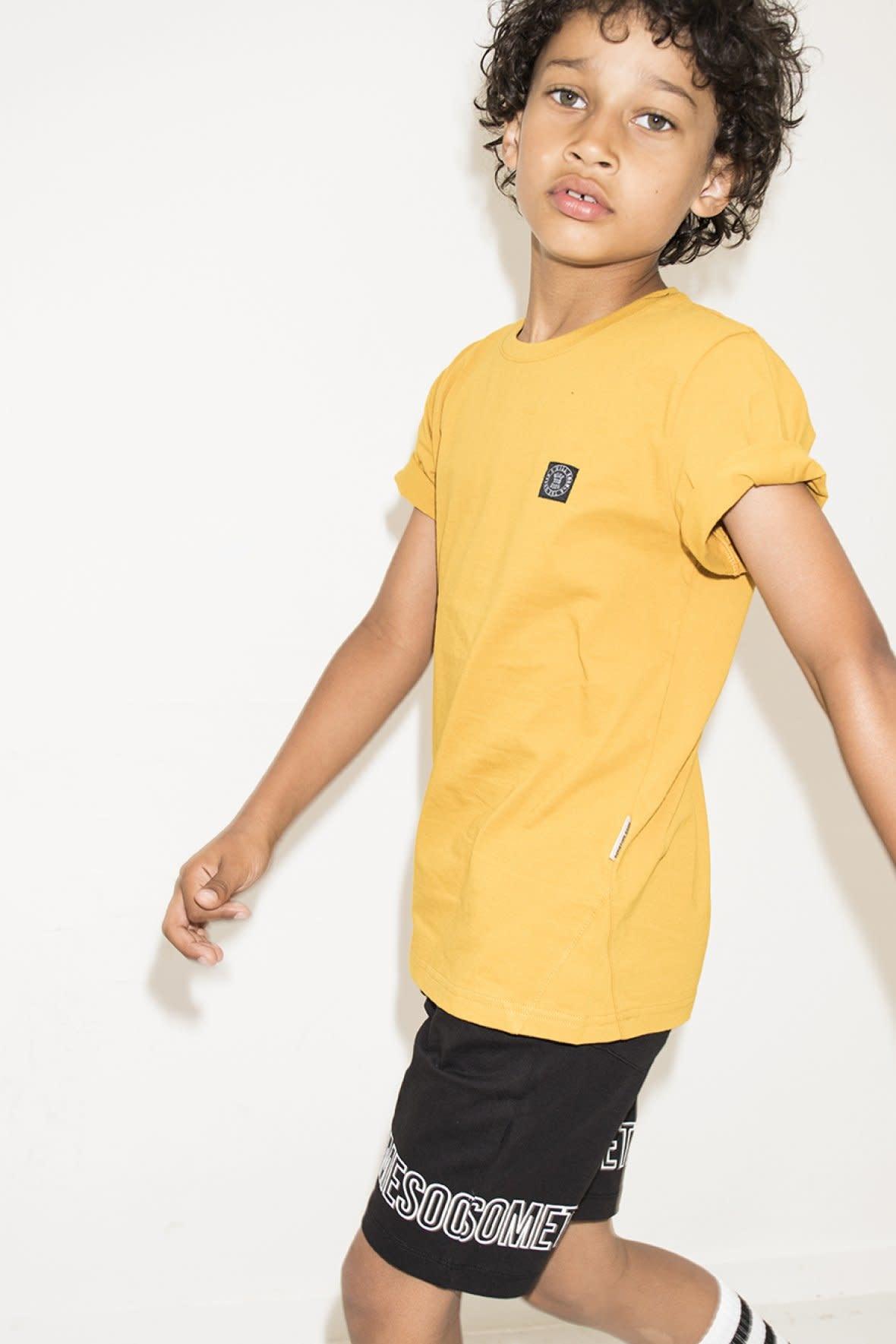 SOMETIME SOON Miller T-shirt - Yellow