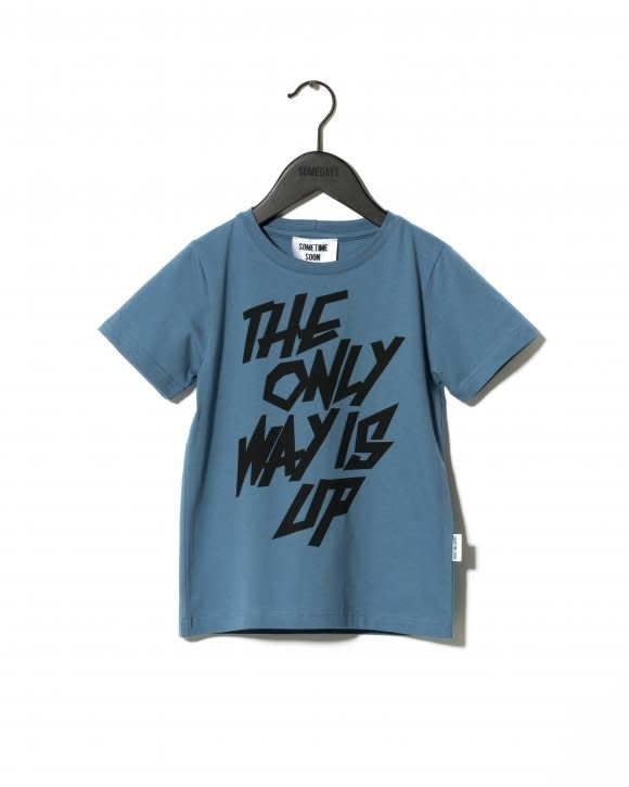 SOMETIME SOON Rise T-shirt - Blue