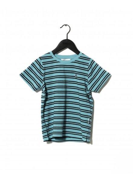 SOMETIME SOON Sofus T-shirt - Blue