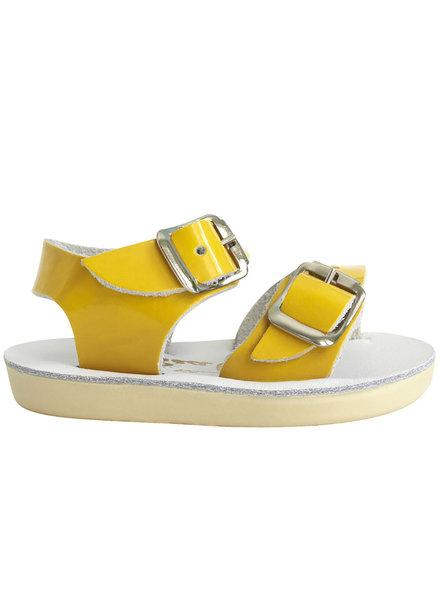 Saltwatersandals Saewee shiny yellow