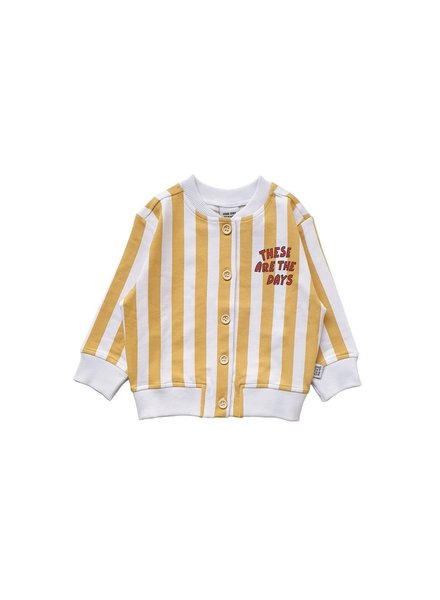 one day parade CARDIGAN // YELLOW STRIPE