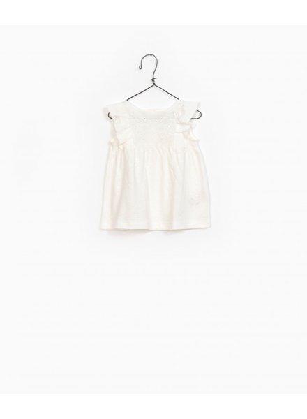 Play Up Jersey dress white 11450