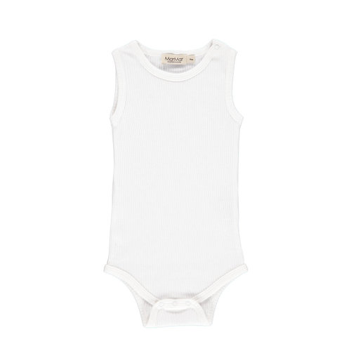 MarMAr CPH Body sleeveless gentle white