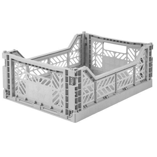 Folding midi Crate grey