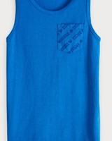 Scotch & Soda Singlet blauw 149393