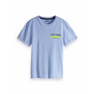 Scotch & Soda Tshirt lichtblauw 150437