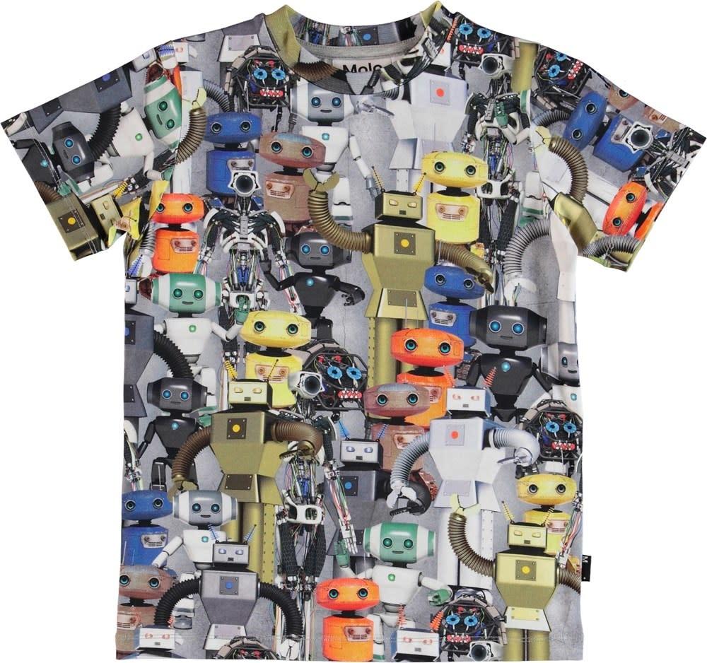 Molo Ralphie robots tshirt