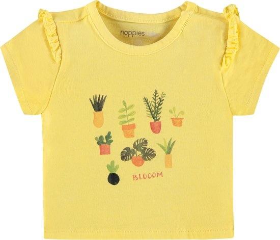 noppies Tshirt geel 94369