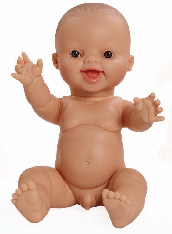 Gordi pop jongen blank lachend