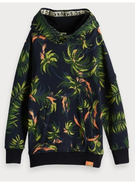 Scotch & Soda All over printed hoody