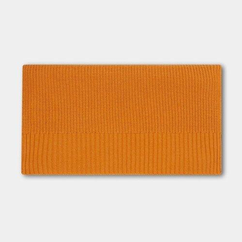 repose Knitted scarf medium warm yellow