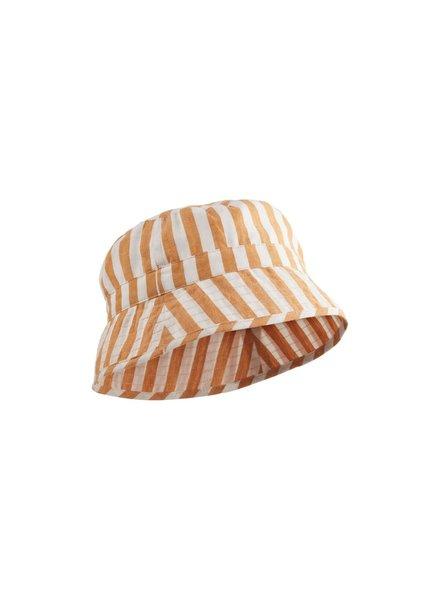 Liewood Jack bucket hat  Mustard/Creme de la creme