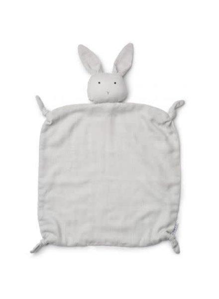 Liewood Cuddlle cloth rabbit grey