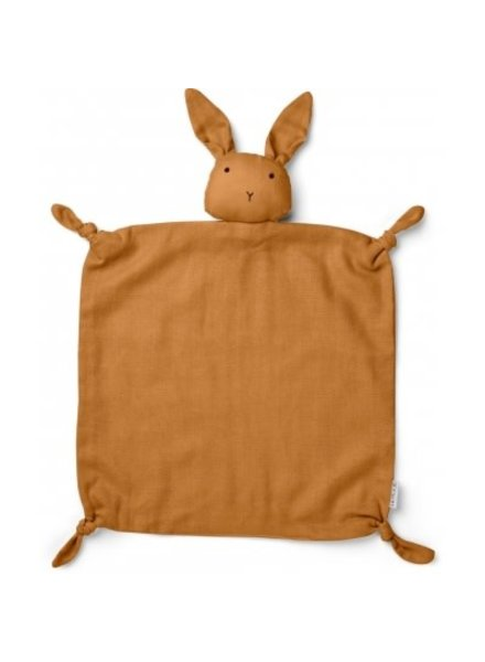 Liewood Cuddlle cloth rabbit mustard