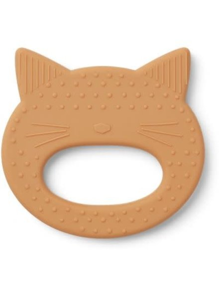 Liewood Teether cat mustard