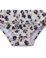 Elise baby girl swim pants leo beige