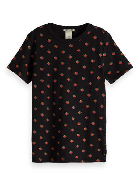 Scotch & Soda T-shirt met print 151484