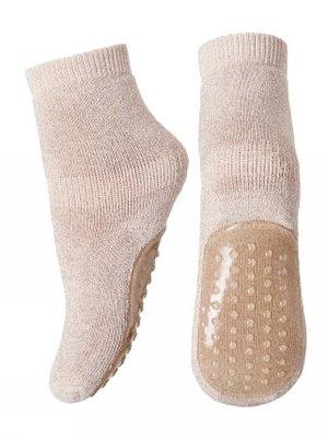MP Denmark Antislip sokken roze glitter