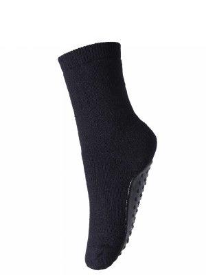 MP Denmark Antislip sokken merinowool blauw