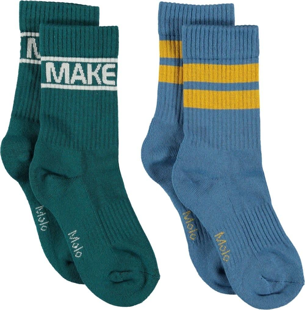 Molo Norman socks shady green