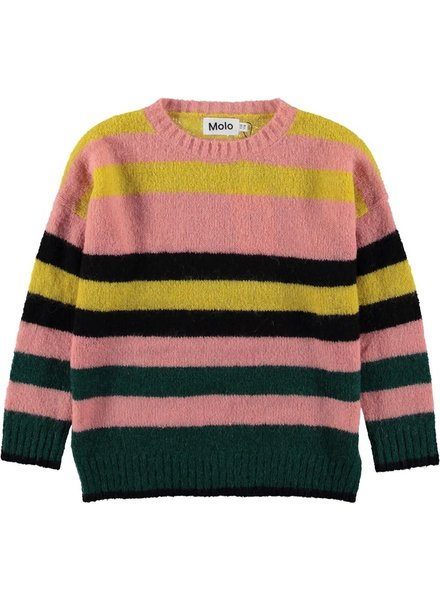 Molo Sweater geneen stripe