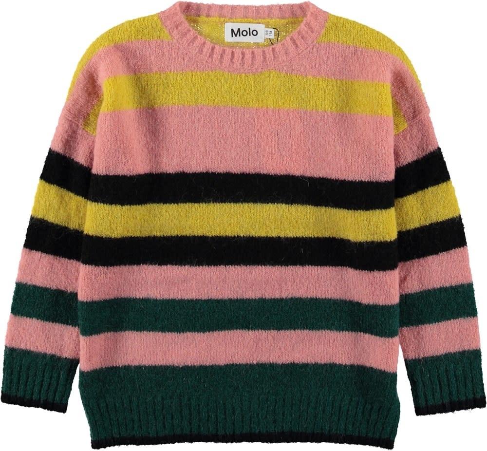 Molo Sweater geneen stripe