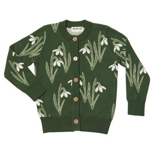 CarlijnQ Snow drop - cardigan (knitted)