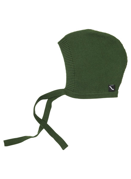 CarlijnQ Knit basics - bonnet (green)