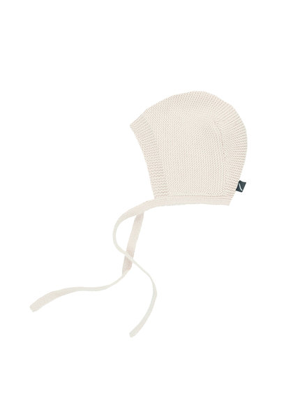 CarlijnQ Knit basics - bonnet (cream)