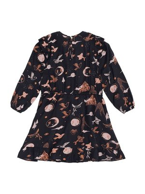 Soft Gallery Ea Dress Peat Enchanted forest
