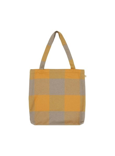 Soft Gallery Sack Bag  Golden Check