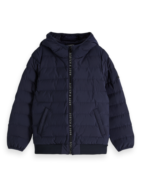 Scotch & Soda Winterjas donkerblauw 151347