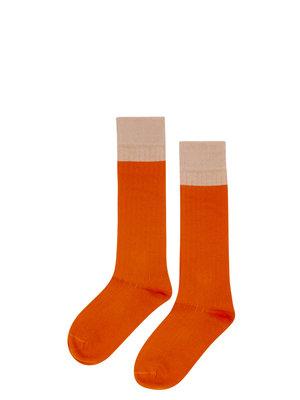 mingo Knee socks bitter chocolate/ cinnamon