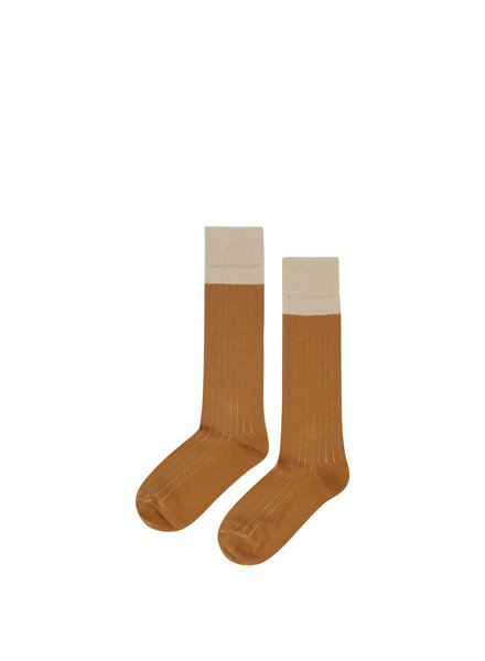 mingo Knee socks sand/ sudan