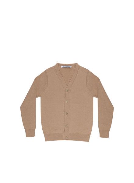 mingo Cardigan beige fine knit