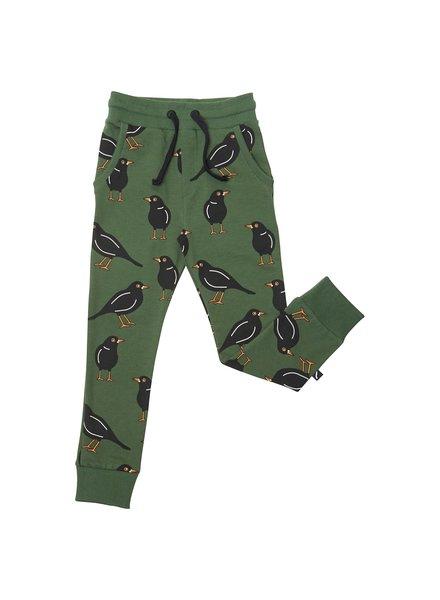 CarlijnQ Black bird sweatpants