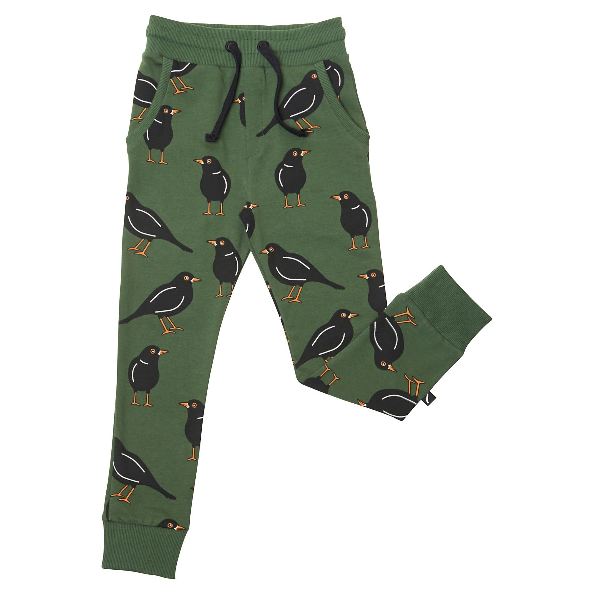 CarlijnQ Black bird sweatpants