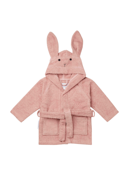 Liewood Lily bathrobe rabbit rose size 3-4