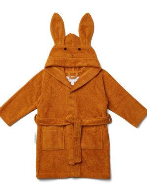 Liewood Lily bathrobe rabbit mustard size 1-2