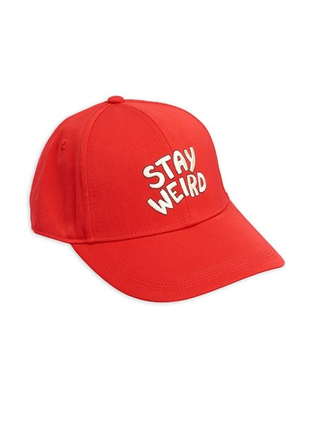 Mini rodini Stay weird embroidery cap