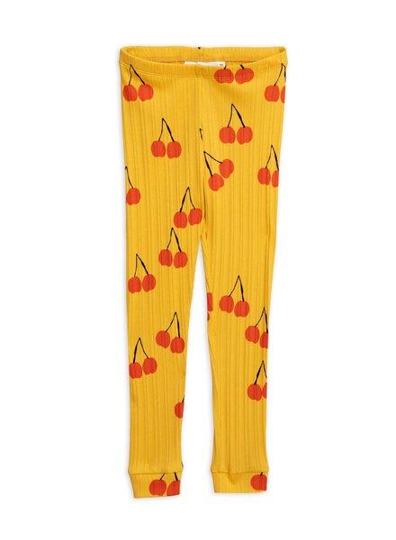 Mini rodini Cherry legging yellow