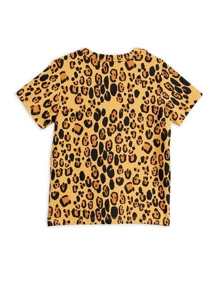 Mini rodini Basic leopard ss tee tencel
