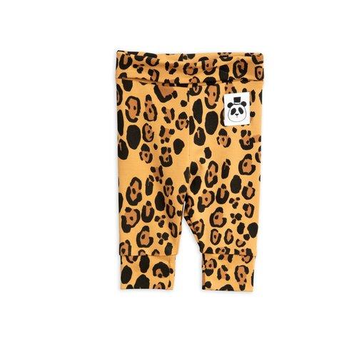Mini rodini Basic leopard nb leggings tencel