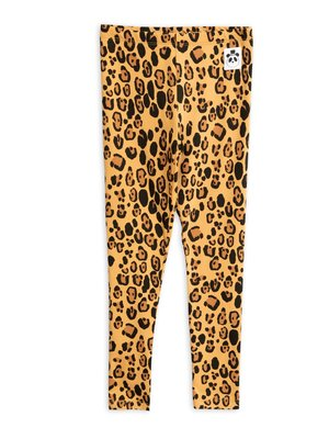 Mini rodini Basic leopard leggings tencel