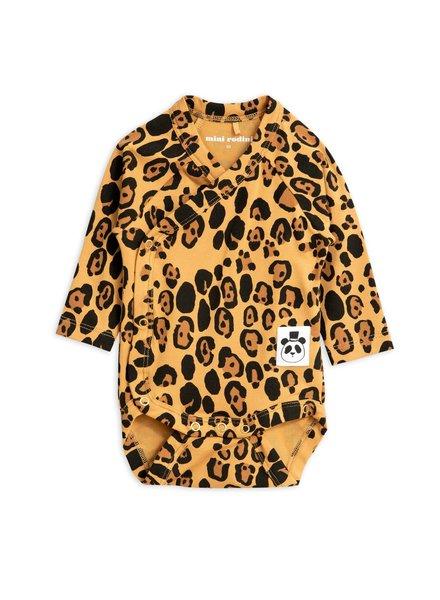 Mini rodini Basic leopard wrap body tencel
