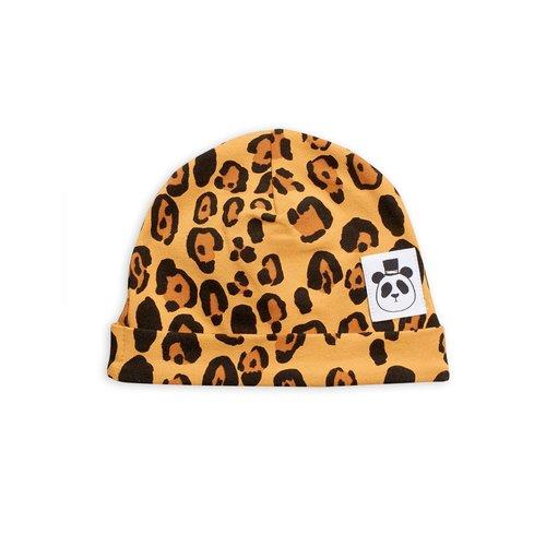 Mini rodini Basic leopard baby beanie