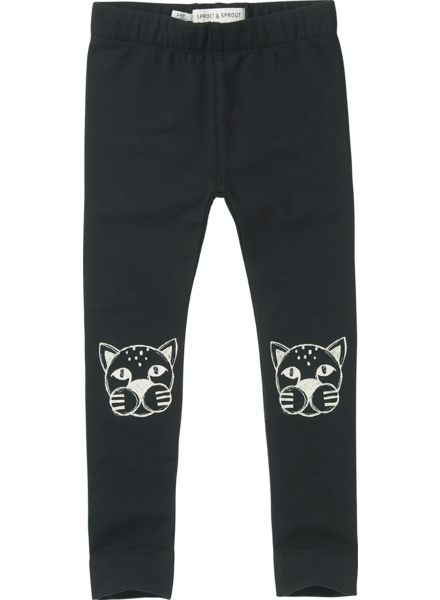 Sproet&Sprout Sweat legging panther head